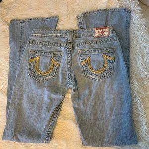 True Religion Rainbow Bobby Flare Jeans